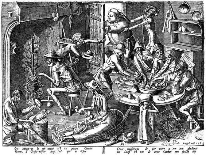 Geschichte besteht aus Geschichten - Pieter Brueghel d. Ältere